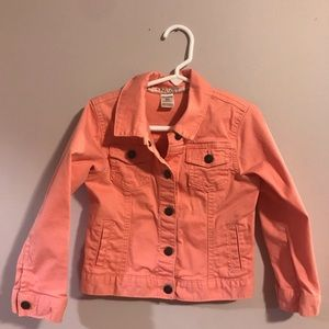 Girls Carter jean jacket, size 5t. Gently used.